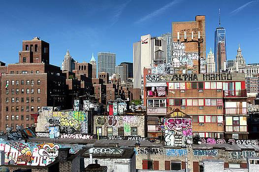 Beyond the Rooftops by Miroslav Vrzala