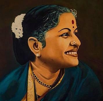 ''Bharat Ratna'' M S Subbulakshmi by Prasanna  Kumar