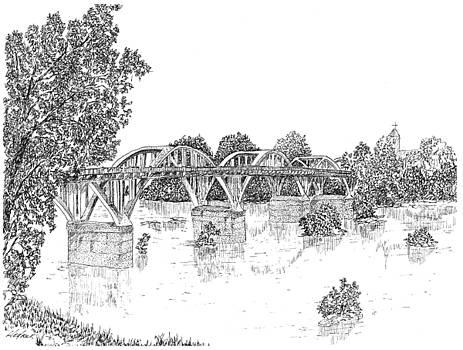 Bibb-Graves Bridge  by Barney Hedrick