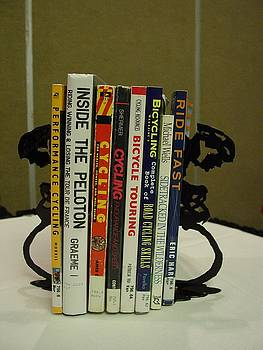 Bicycle Book ends by Steve Mudge