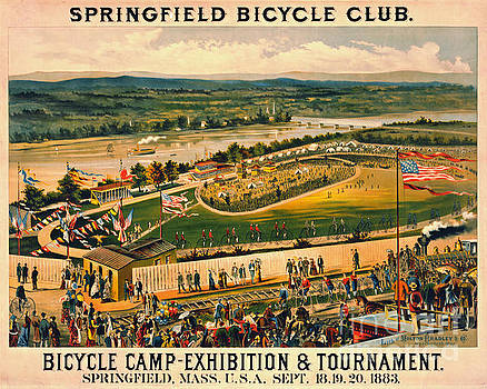 Bicycle Camp 1883 by Padre Art