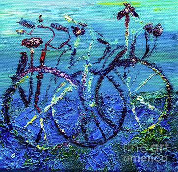 Bicycle Garden by Elizabeth Briggs