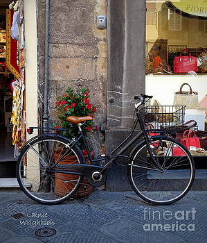 Bicycle in Lucca by Lainie Wrightson