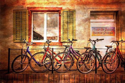 Debra and Dave Vanderlaan - Bicycle Line-Up