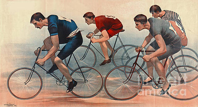 Bicycle Lithos Ad 1896nt by Padre Art