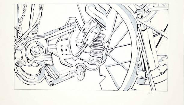 Bicycle by Maryn Crawford