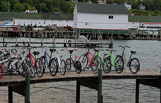 Bicycle Pier by Michiale Schneider