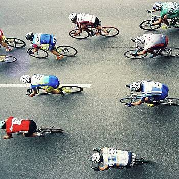 Bicycle Race by FD Graham