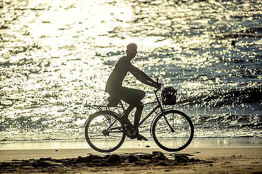 Bicycle Rider by Azad Pirayandeh