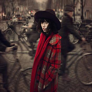 Bicycle Traffic  by Anka Zhuravleva