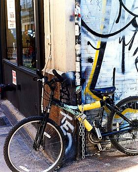 Karin Kohlmeier - Bicycle with Graffiti