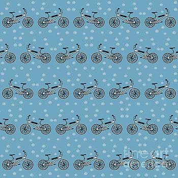 Bicycles pattern by Gaspar Avila
