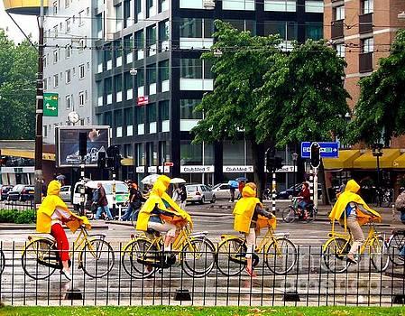 Bicycling Asterdam by Phyllis Kaltenbach
