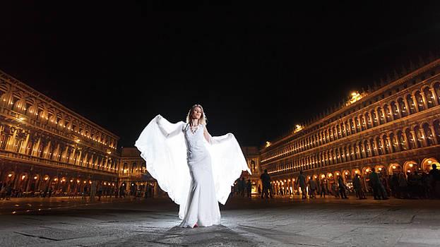 Bide in Venice Italy by Cristian Mihaila