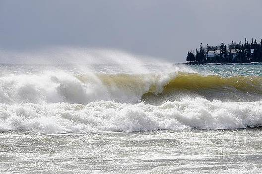 Big Bay Surf by Sandra Updyke
