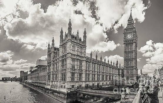 Mariusz Talarek - Big Ben and Parliament Building - view from Westminster Bridge