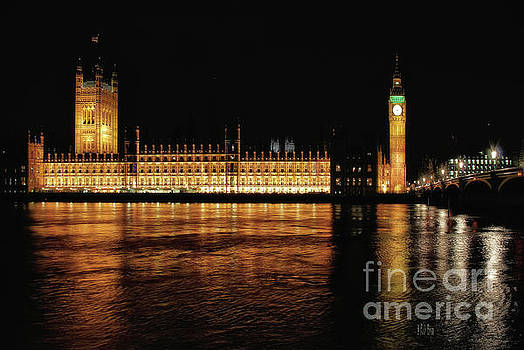Lois Bryan - Big Ben and The Palace of Westminster At Night
