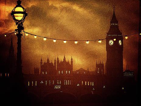Big Ben At Night by Andrew David Photography