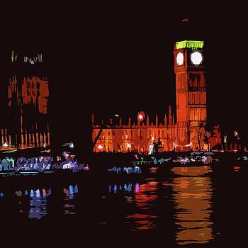 James Hill - Big Ben at Night