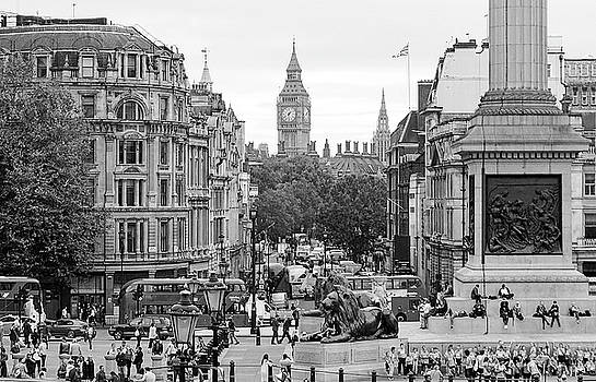 Big Ben From Trafalgar Square by Joe Winkler