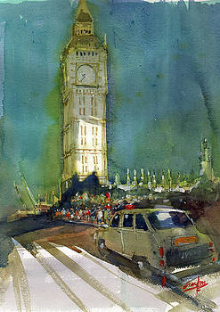 Big Ben by Gaston McKenzie