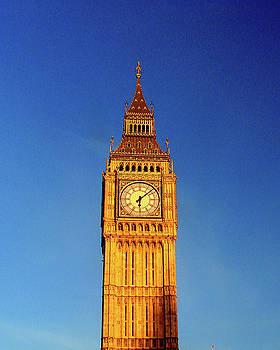 Big Ben, London by Misentropy