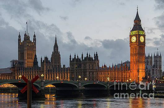 Big Ben - Clock tower in London by John Janicki