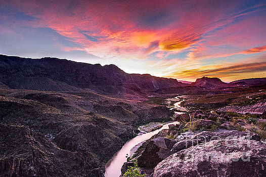 Big Bend Rio Grande - Texas by Marc Evans