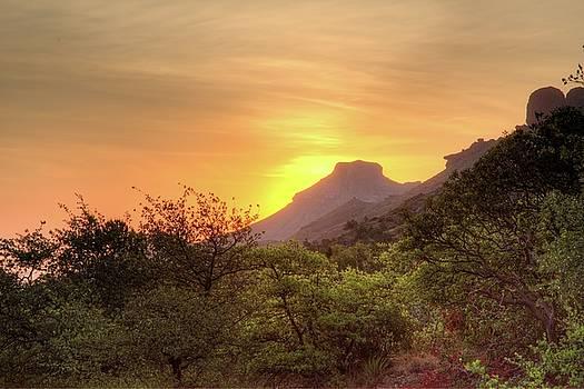 Big Bend Sunrise by Jim Allsopp