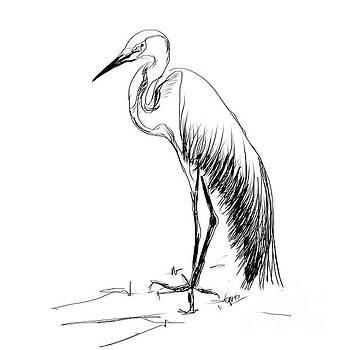 Big bird by Go Van Kampen