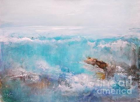 Big Blue Wave by Elena Ivanova