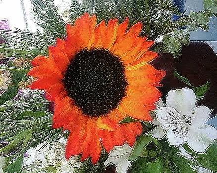 Big Bold Flower #070 by Barbara Tristan