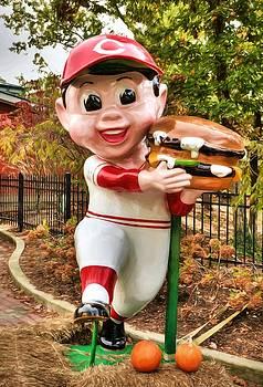 Mel Steinhauer - Big Boy Is A Cincinnati Reds Fan