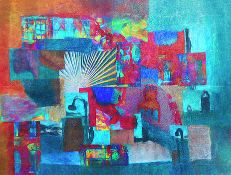 Big Brain Collage by Susan Stone