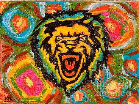 Big Cat Abstract by Gerhardt Isringhaus