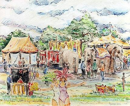 Big Circus by Reynolds Beal