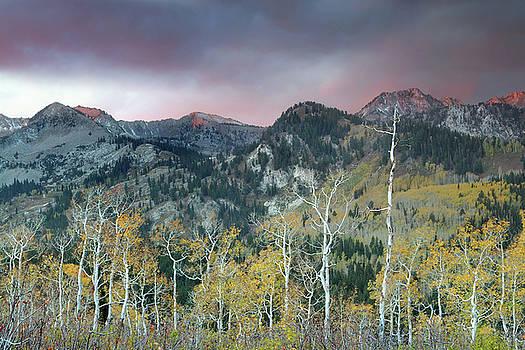 Big Cottonwood Canyon Sunrise by Dean Hueber