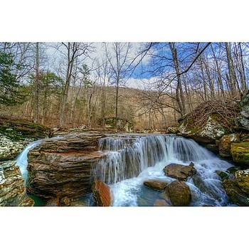 Big Creek In The Ozark National Forest by David Dedman