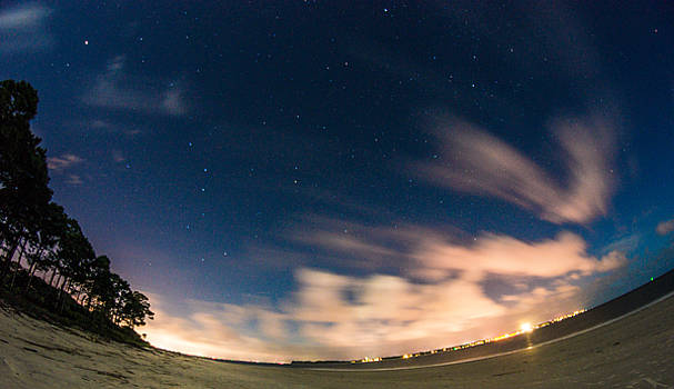 Chris Bordeleau - Big Dipper over Driftwood Beach