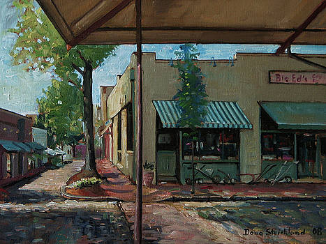Big Eds Cafe Raleigh NC by Doug Strickland