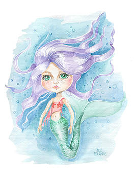 Big Eyed Mermaid by Elisa Bolanos