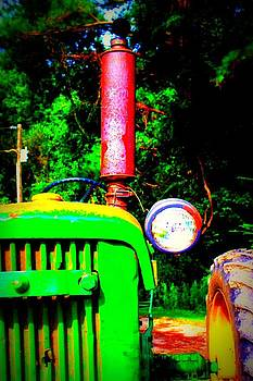 Big Green Tractor 2 by Jill Tennison
