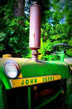 Big Green Tractor by Jill Tennison
