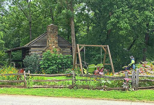 Big Holly Cabin by Susan Leggett
