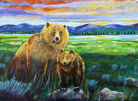 Harriet Peck Taylor - Big Mama and her Cub