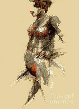 Big Nude by Jimm Roberts