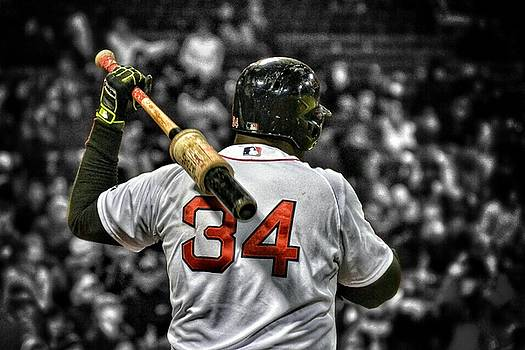 Big Papi on deck  by SoxyGal Photography