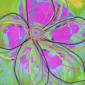 Ricki Mountain - Big Pop Floral III