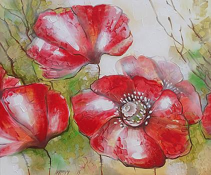 Big Poppies by Khromykh Natalia