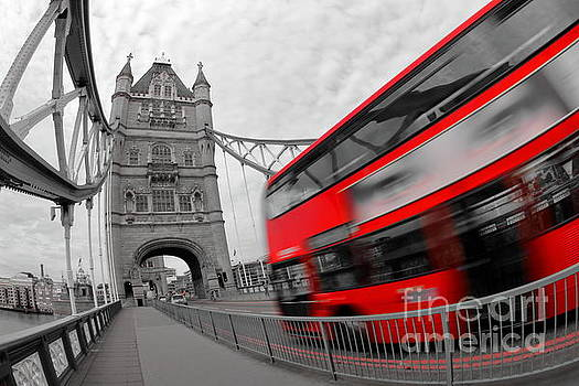 Big Red Bus by Howard Ferrier